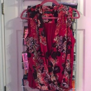 Vibrant top from INC by Macy's, size Large.